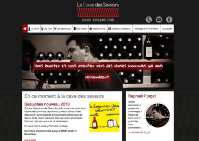 La cave des saveurs : rédaction web
